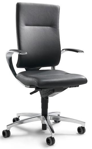 intouch black kontorstole dauphin stoleshoppen. Black Bedroom Furniture Sets. Home Design Ideas